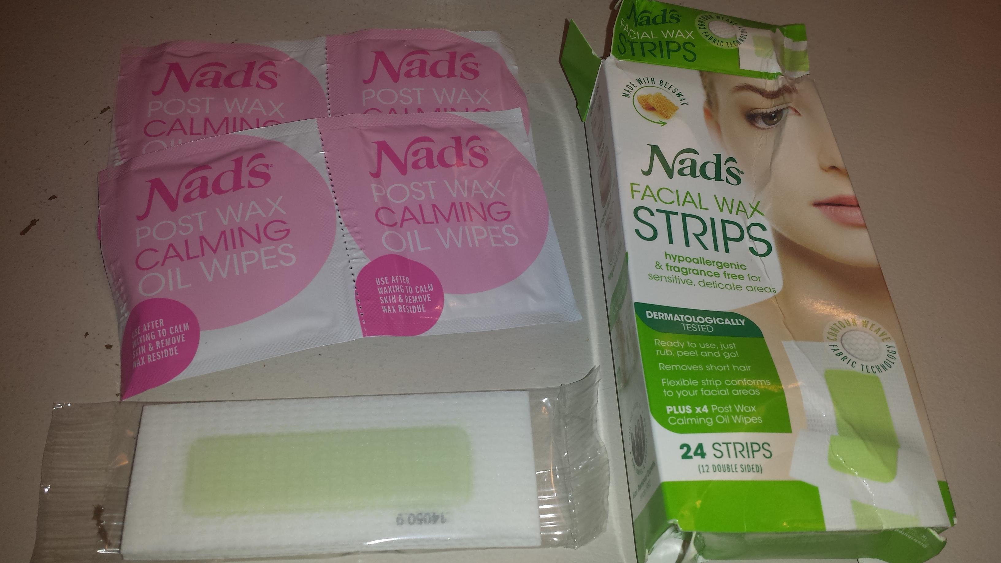 Nads Facial Wax Strips And Facial Wand Eyebrow Shaper Reviews
